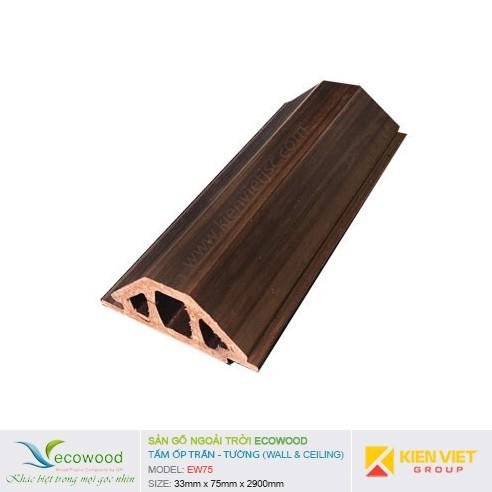 Tấm ốp tường trần EcoWood EW75 | 33x75mm