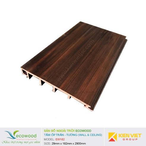 Tấm ốp tường trần EcoWood EW182   29x182mm