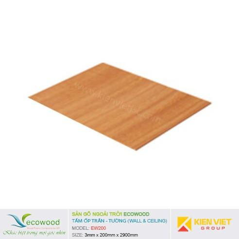 Tấm ốp tường trần EcoWood EW200 | 3x200mm