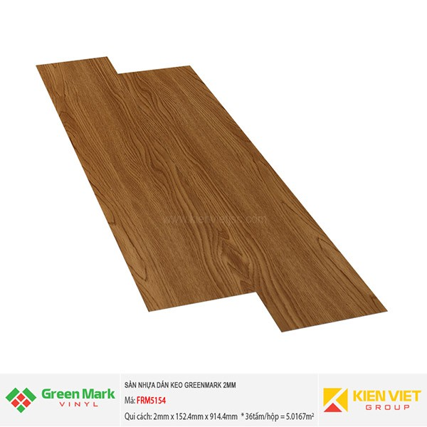 Sàn nhựa dán keo GREENMARK FRM5154   2mm