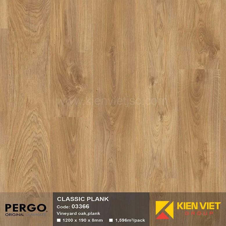 Sàn gỗ Pergo Classic Blank 03366 | 8mm