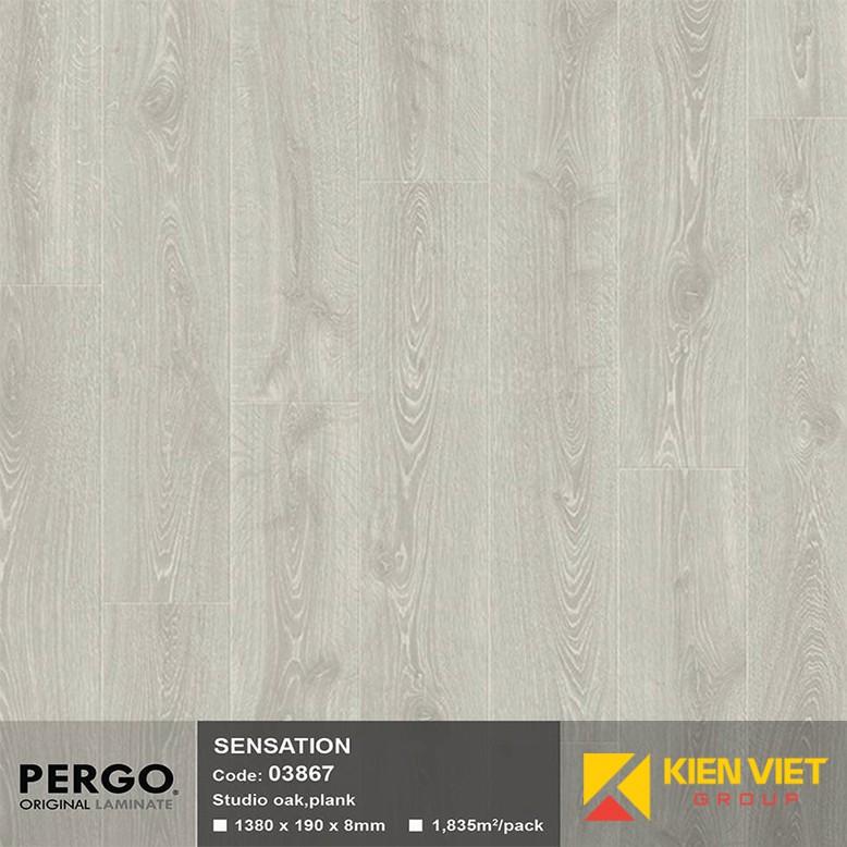 Sàn gỗ Pergo Sensation 03867   8mm
