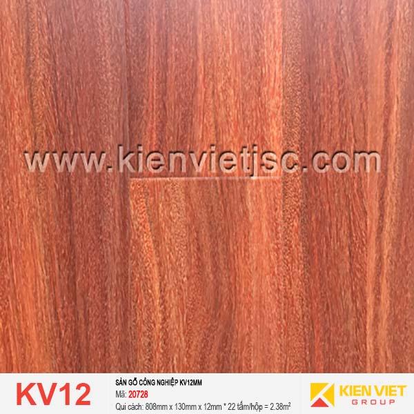 Sàn gỗ giá rẻ KV12 - 20728