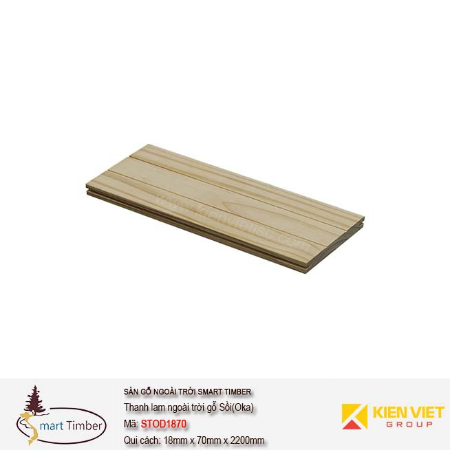 Thanh lam Smart Timber Sồi (Oak) STOD1870