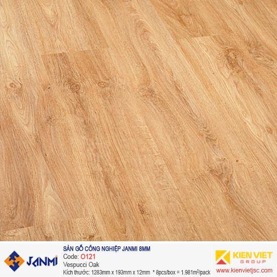 Sàn gỗ Janmi O121 Vespucci Oak | 8mm