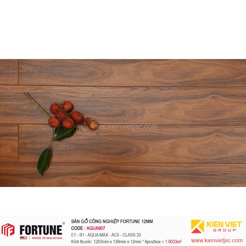 Sàn gỗ công nghiệp Fotune Aqua907 | 12m