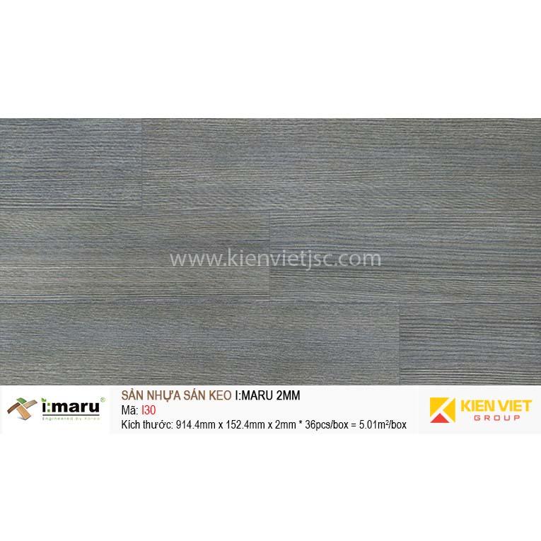 Sàn nhựa dán keo Imaru I30   2mm