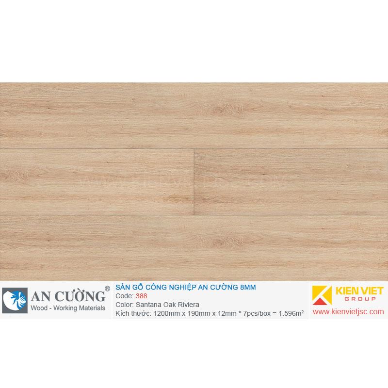 Sàn gỗ An cường 388 Santana Oak Riviera | 8mm
