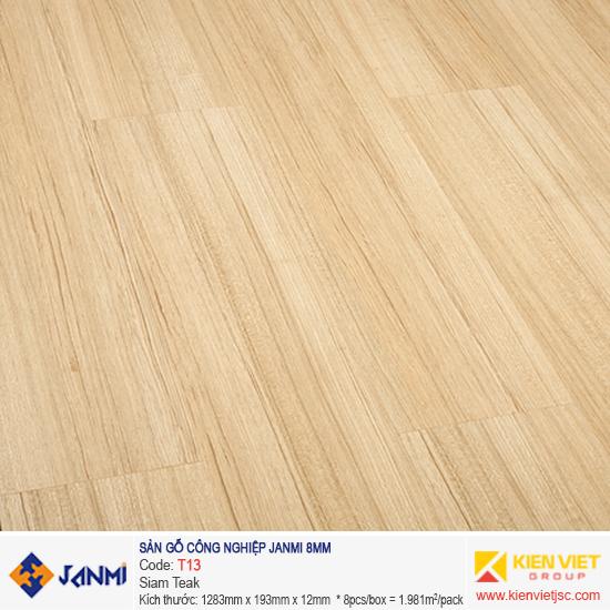 Sàn gỗ Janmi T13 Siam Teak | 8mm