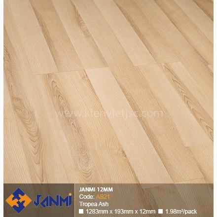 Sàn gỗ Janmi AS21 Tropea Ash | 12mm