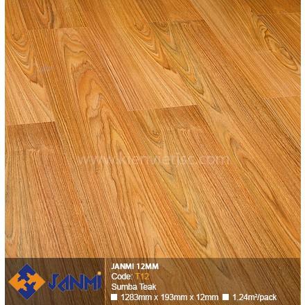 Sàn gỗ Janmi T12 Sumba Teak | 12mm