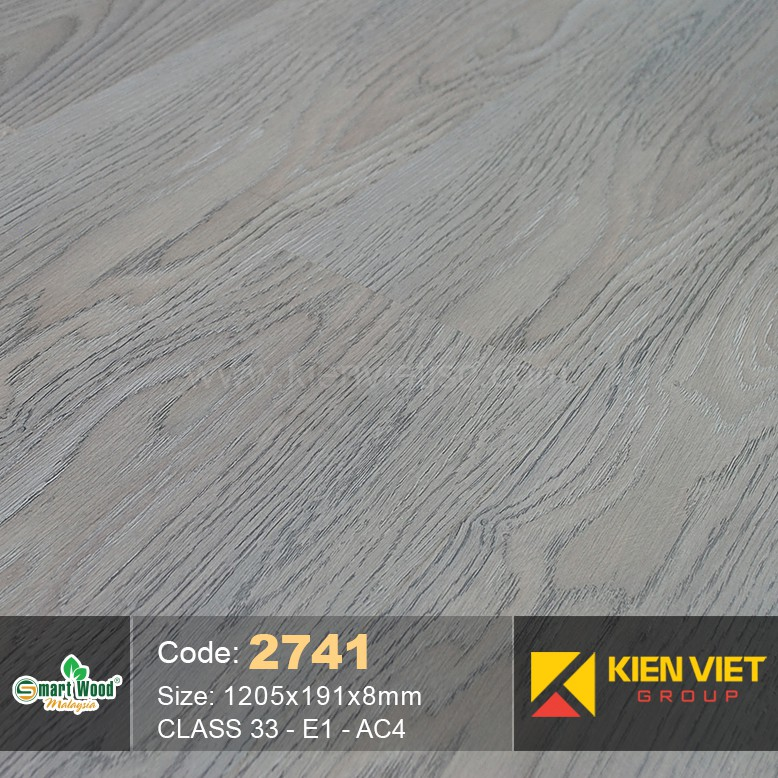 Sàn gỗ Smartwood AC4 2741 | 8mm