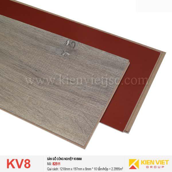Sàn gỗ giá rẻ KV8 - 82511