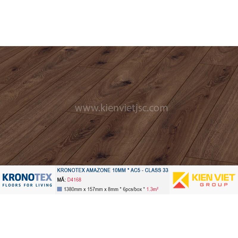 Sàn gỗ Kronotex Amazone D4168 Prestige Oak Dark | 10mm