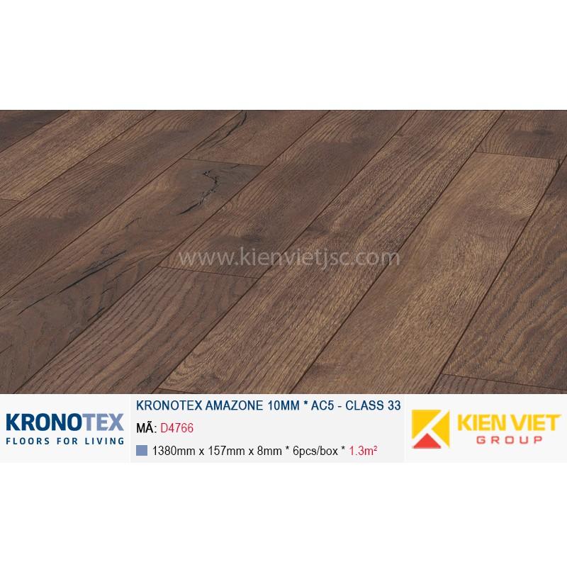 Sàn gỗ Kronotex Amazone D4766 Pettersson Oak Dark | 10mm