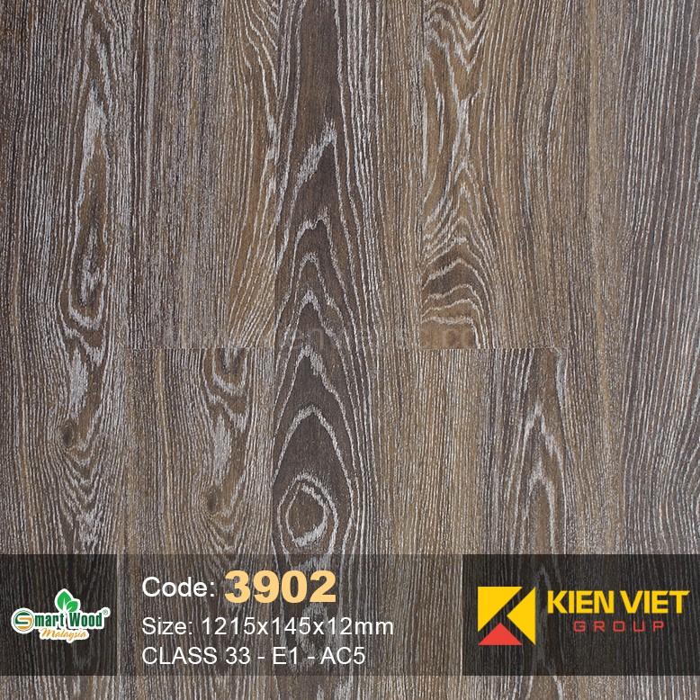 Sàn gỗ Smartwood Class 33 E1 AC5 3902 | 12mm