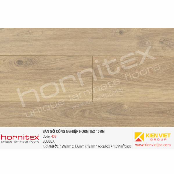 Sàn gỗ Hornitex 459 SUSSEX | 12mm