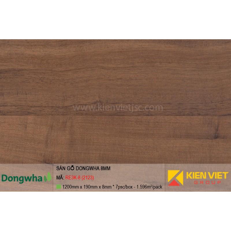 Sàn gỗ Dongwha RE3K-8 (2123)   8mm
