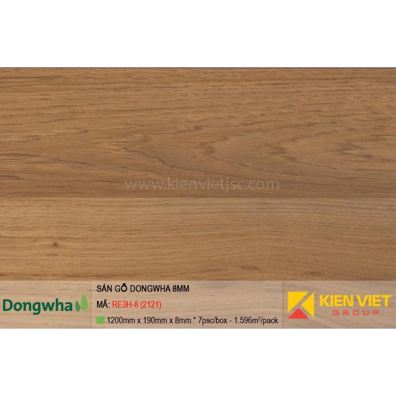 Sàn gỗ Dongwha RE3H-8 (2121) | 8mm