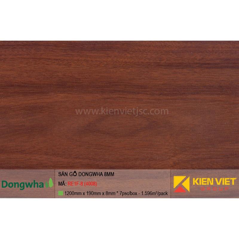 Sàn gỗ Dongwha RE1F-8 (4008) | 8mm