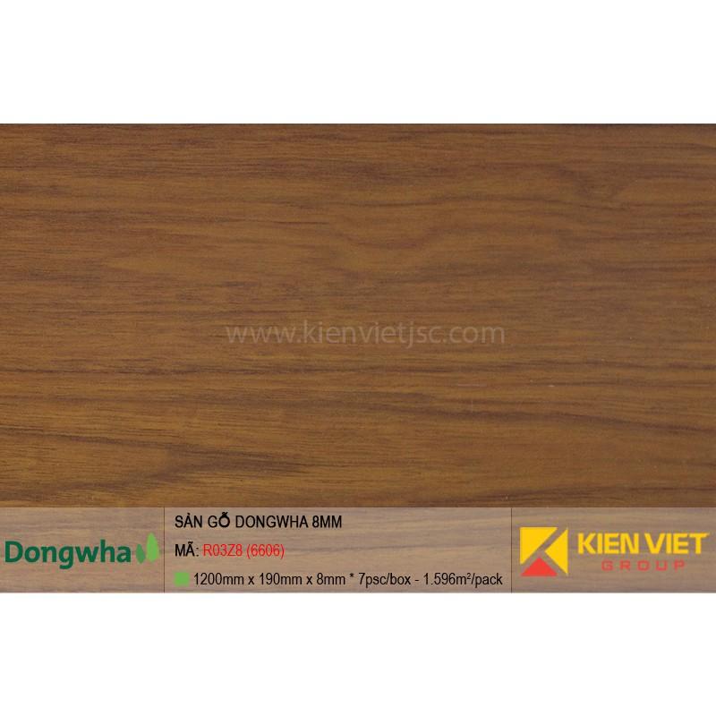 Sàn gỗ Dongwha R03Z8 (6606) | 8mm