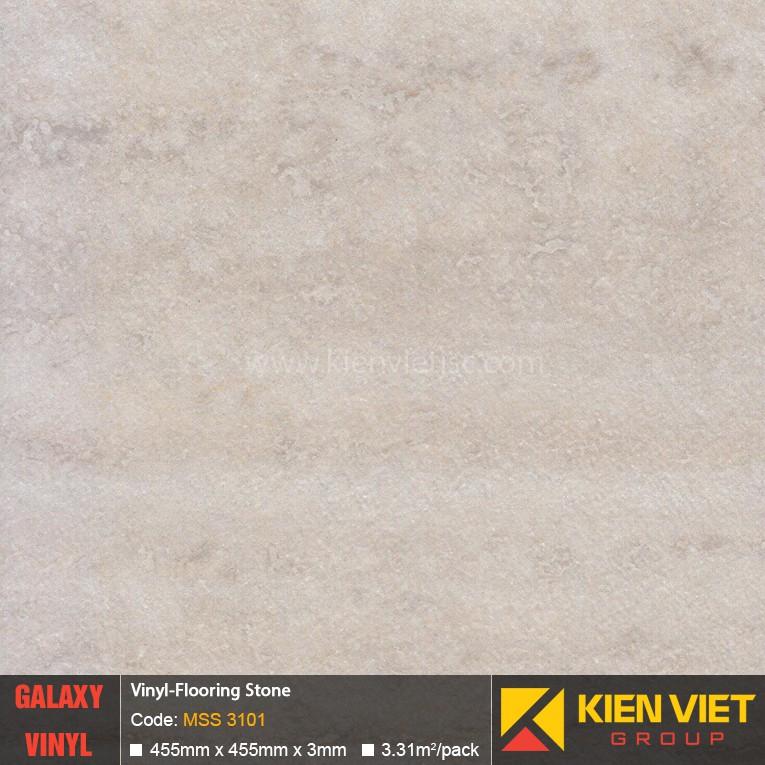 Sàn nhựa dán keo Galaxy vân đá MSS 3101