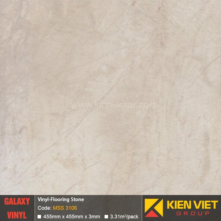 Sàn nhựa dán keo Galaxy vân đá MSS 3106