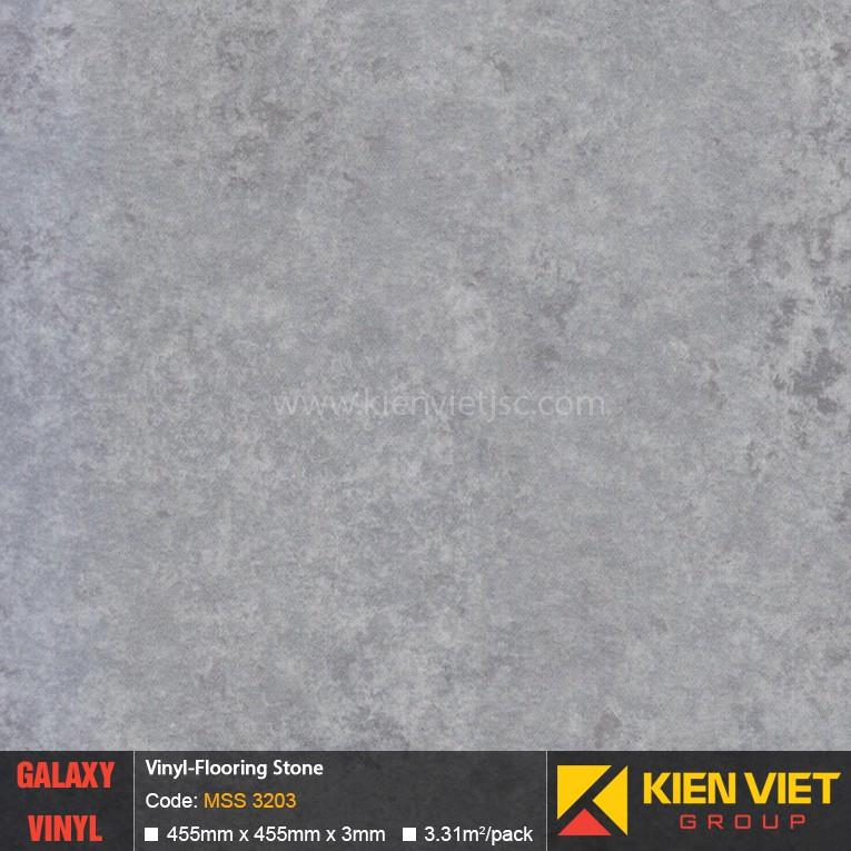 Sàn nhựa dán keo Galaxy vân đá MSS 3203 | 3mm