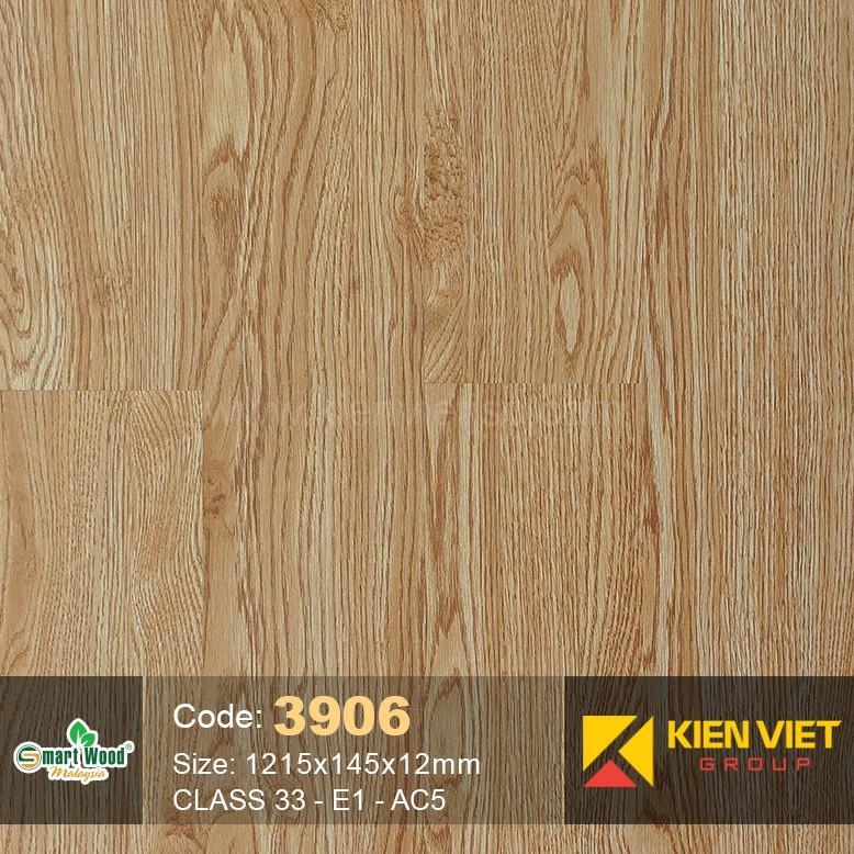 Sàn gỗ Smartwood Class 33 E1 AC5 3906 | 12mm