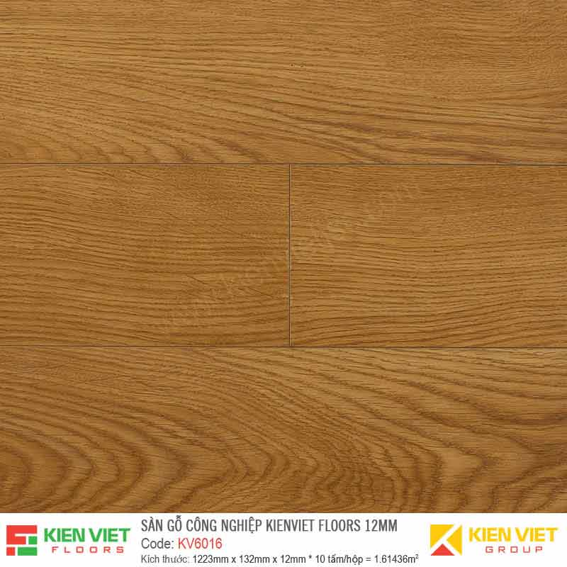 Sàn gỗ Kienviet Floor KV6016 - 12mm