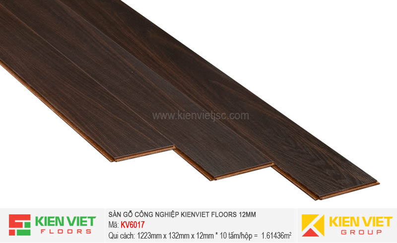Sàn gỗ Kienviet Floor KV6017 | 12mm