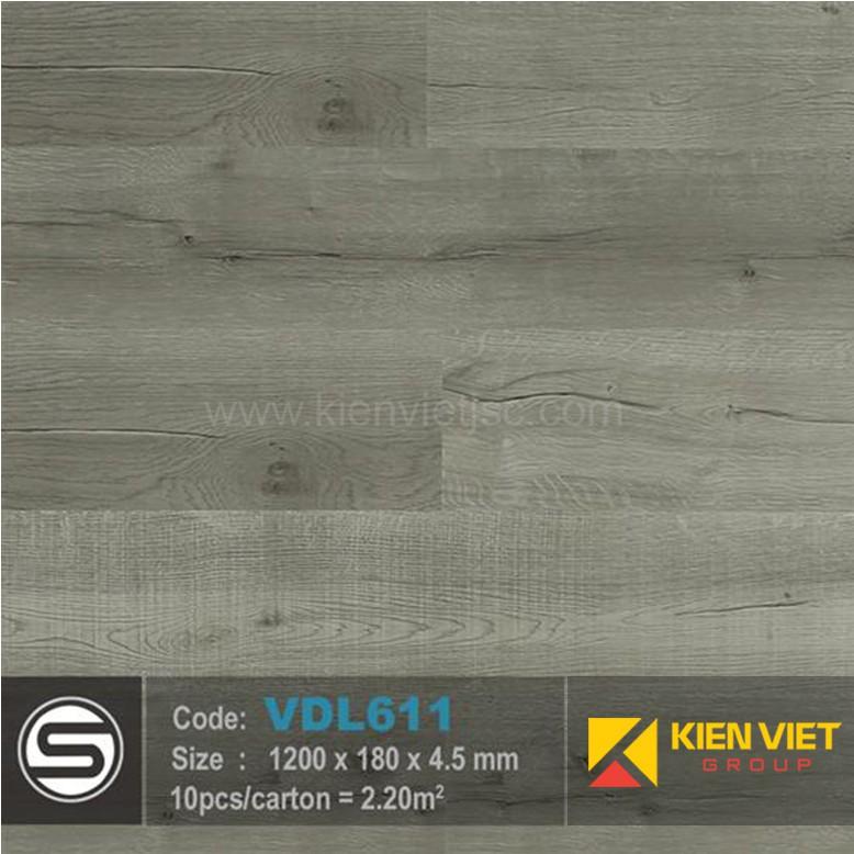 Sàn nhựa hèm khóa Smartwood VDL611 | 4.5mm