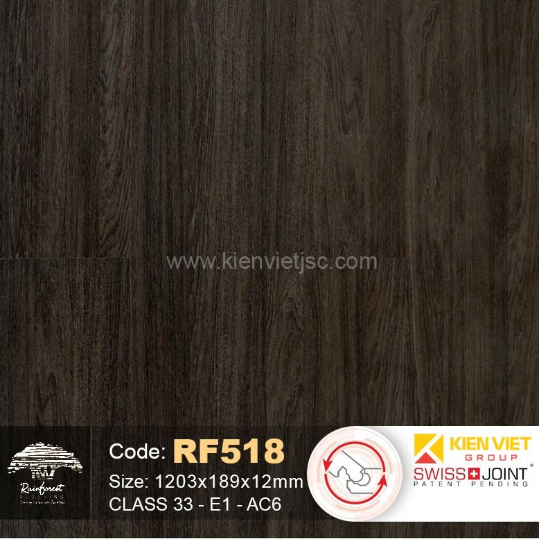 Sàn gỗ Rainforest RF518 - 12mm - AC6