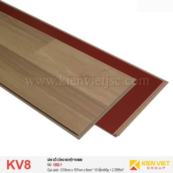 Sàn gỗ giá rẻ KV8 1352-1