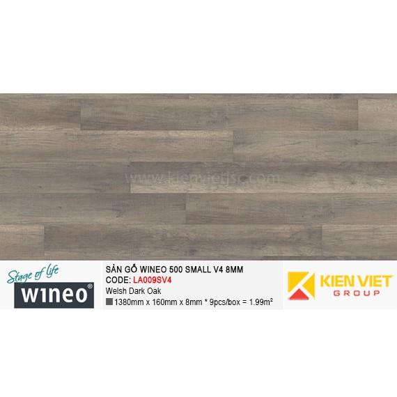 Sàn gỗ Wineo Small 500 V4 - LA009SV4 | Welsh Dark Oak 8mm