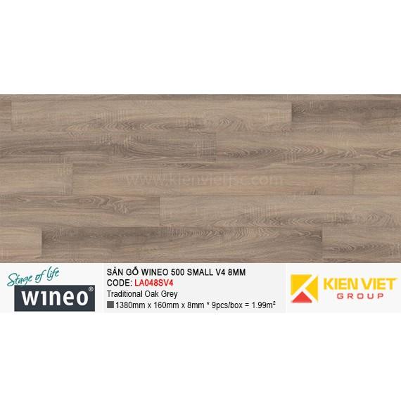 Sàn gỗ Wineo Small 500 V4 - LA048SV4 | Traditional Oak Grey 8mm