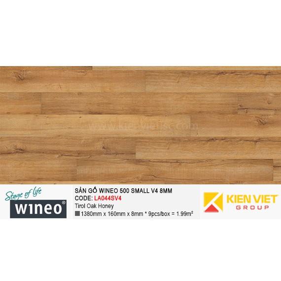 Sàn gỗ Wineo Small 500 V4 - LA044SV4 | Tirol Oak Honey 8mm