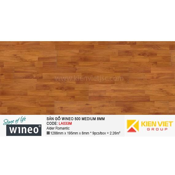Sàn gỗ Wineo 500 Medium - LA033M | Alder Romantic 8mm