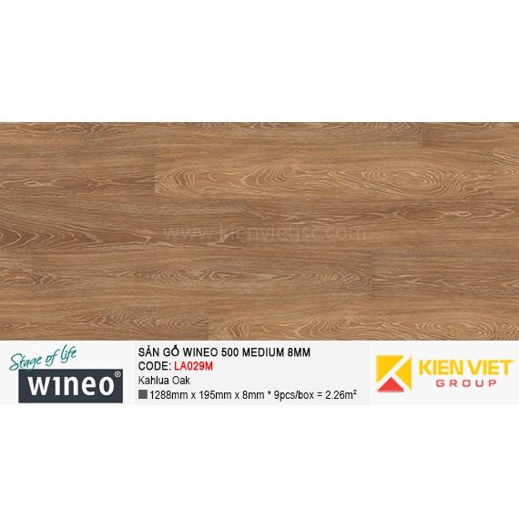 Sàn gỗ Wineo 500 Medium - LA029M | Kahlua Oak 8mm