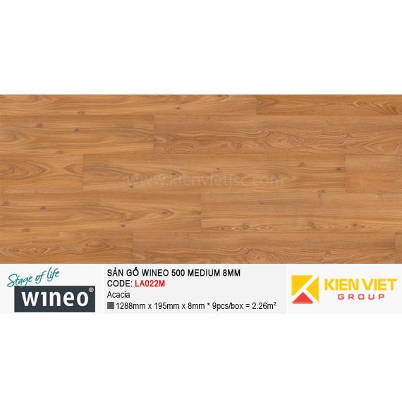 Sàn gỗ Wineo 500 Medium - LA022M | Acacia 8mm