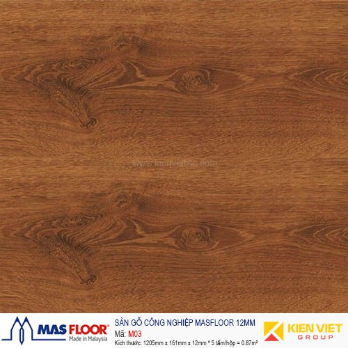 Sàn gỗ MASFLOOR M02 | 12mm