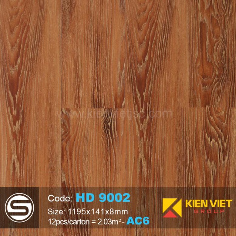 Sàn nhựa hèm khóa Smartwood HD 9002 | 8mm