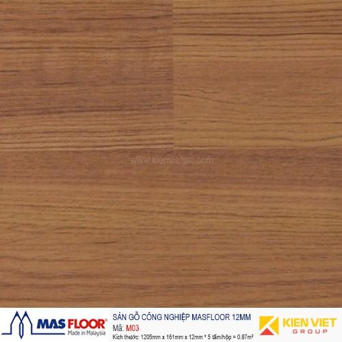 Sàn gỗ MASFLOOR M03 | 12mm