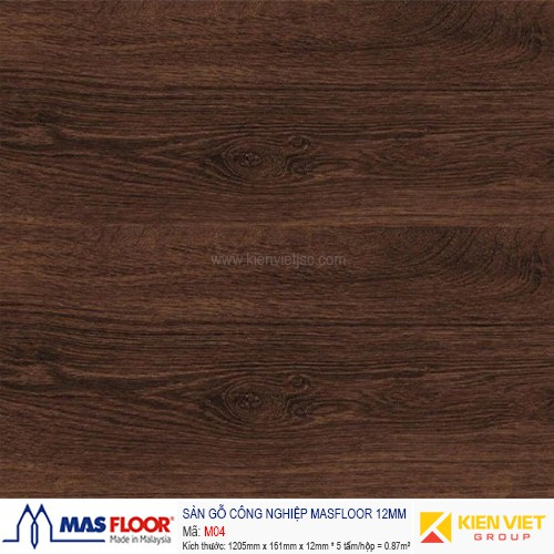 Sàn gỗ MASFLOOR M04 | 12mm