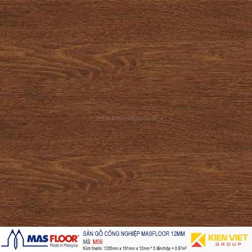 Sàn gỗ MASFLOOR M06 | 12mm
