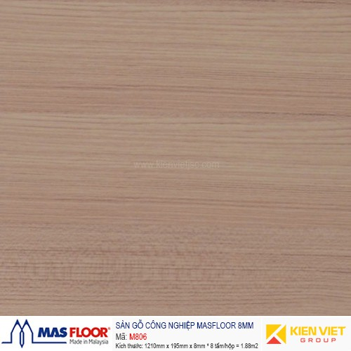 Sàn gỗ MASFLOOR M806 | 8mm