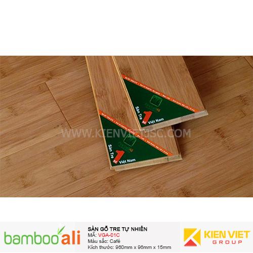 Sàn tre ép ngang Cafe VGA-01C | 15mm