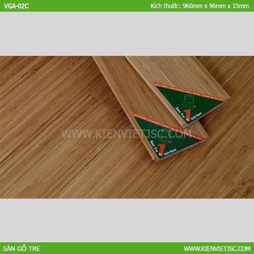 Sàn tre ép nghiêng Cafe VGA-02C | 15mm