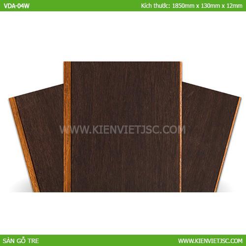 Sàn tre ép khối màu gỗ Sâm Banh ( Bordeaux) VDA-04W | 14mm