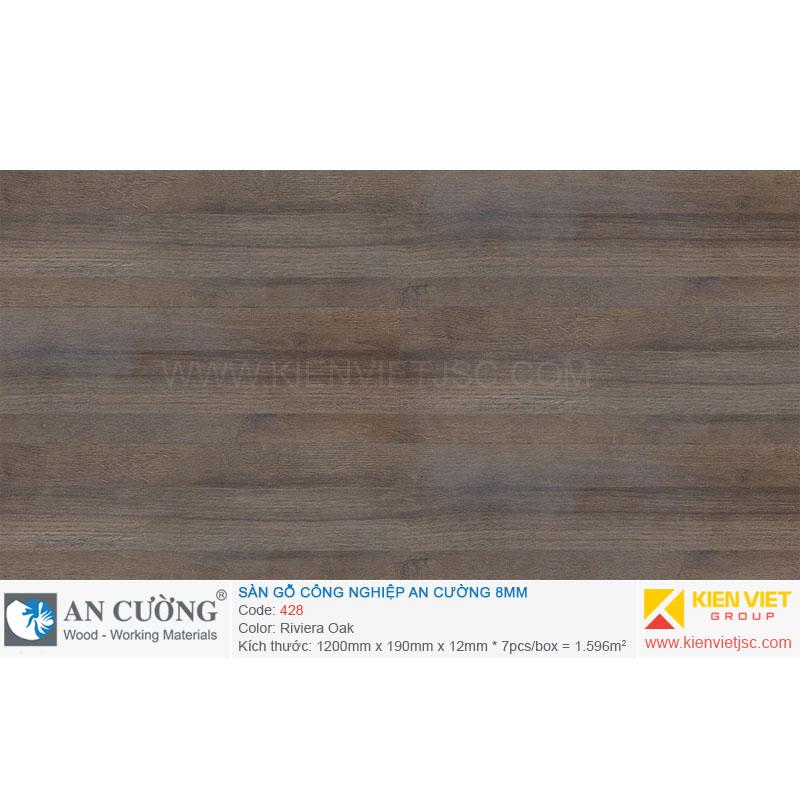 Sàn gỗ An cường 428 Riviera Oak | 8mm